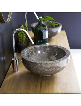 Vasque en marbre Bahya Grey