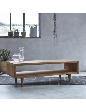 Table basse en teck 120x50 Jonàk