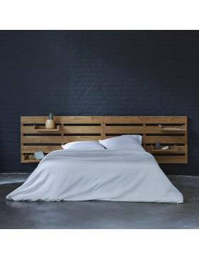 Tête de lit en teck 270 Urbain