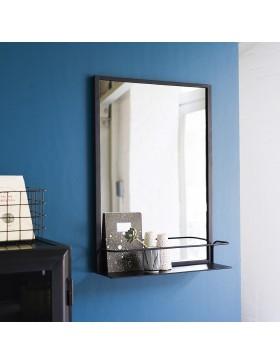 Miroir en métal 70x50 Lison