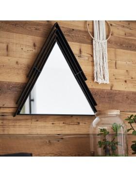 Miroir triangulaire en métal 60 Maho