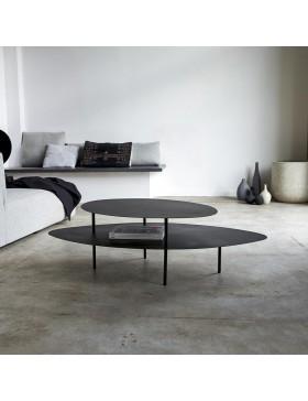 Table basse en métal 120x70 Judit