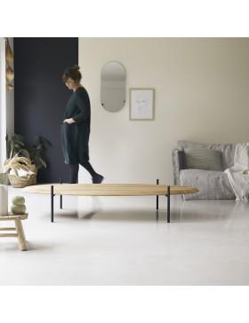Table basse en teck 160x80 Honorine