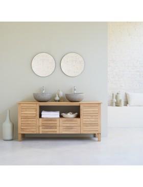 Meuble Salle de bain en chêne 165 Soho Oak