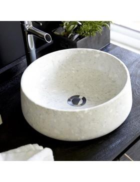 Vasque en pierres Milos