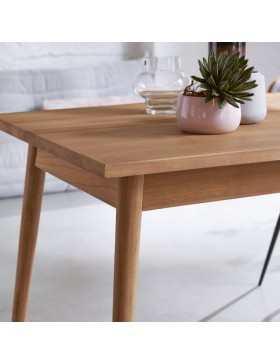 Table de salle à manger 180x80 en teck Jonàk