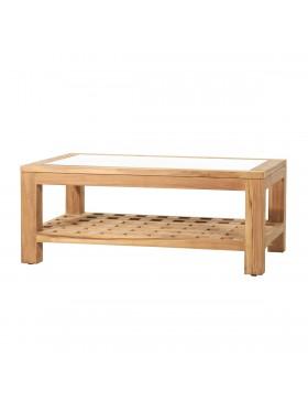Table basse en teck 100x60 Kwad