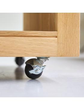 Table basse en chêne 80 Anoa Oak