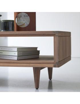 Table basse en noyer 120x50 Jonàk Walnut