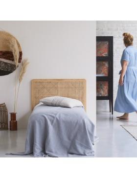 Tête de lit en rotin cannée 90 Adèle