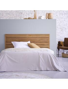 Tête de lit en teck massif 165 Minimalys
