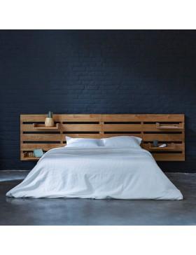 Tête de lit en teck massif 270 Urbain