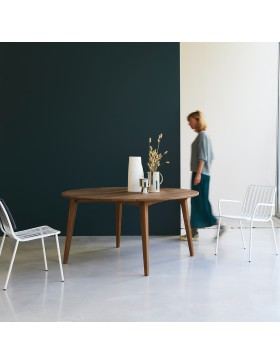 Table en teck massif 150 Grasshopper