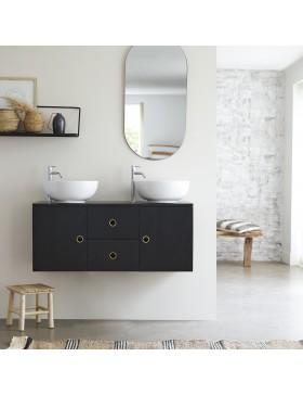 Meuble Salle de bain teck massif 123 Polett