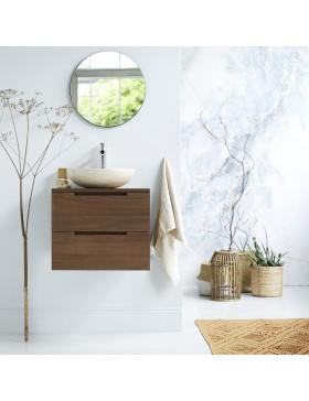Meuble Salle de bain en teck massif 60 Romeo
