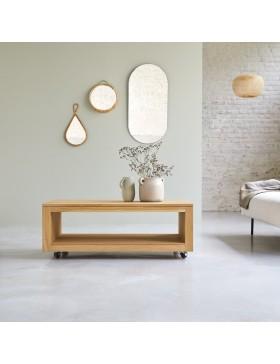 Table basse en chêne massif 110x60 Anoa