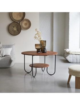 Table basse en teck massif 90 Key Wood