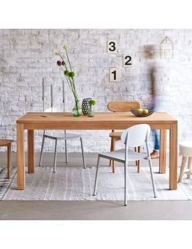 Table en teck massif 180x90 Coffee Tek
