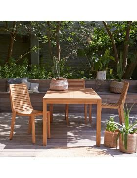 Table de jardin en teck massif 180 Teo