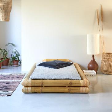 Lit futon en bambou 115x215 cm Balyss