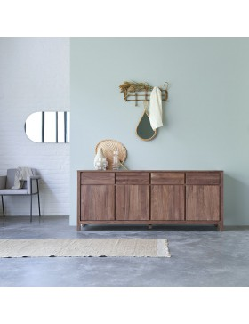 Buffet en noyer massif 180 Solid