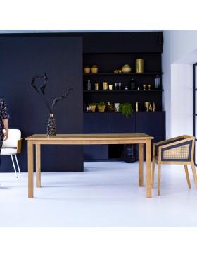 Table en manguier massif 160x90 Rafael