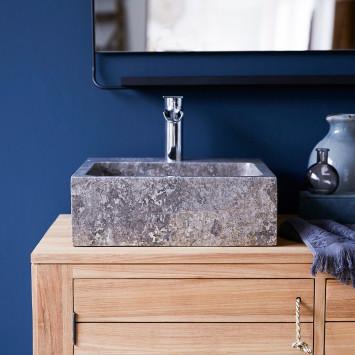 Vasque en marbre Slats grey