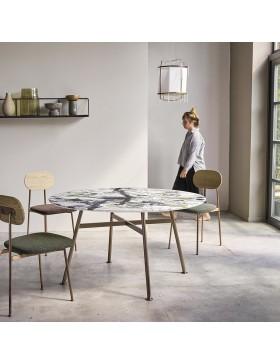 Table Yutapi 140 en marbre