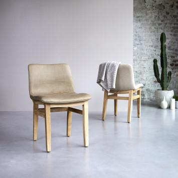 Chaise Cocoon cheyenne en chêne