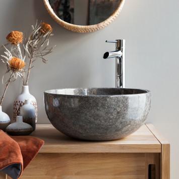 Vasque en marbre Mia grey light