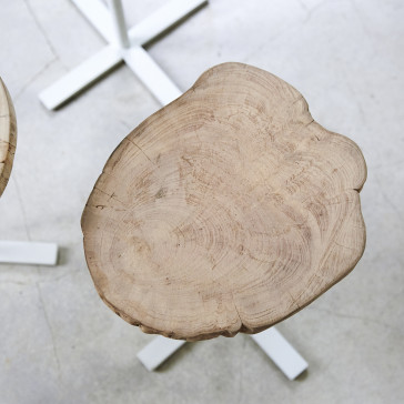 Tables gigognes Paani en chêne massif