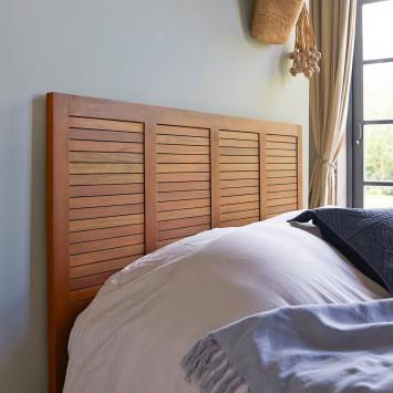 Tête de lit en acajou massif 160 cm Loggia