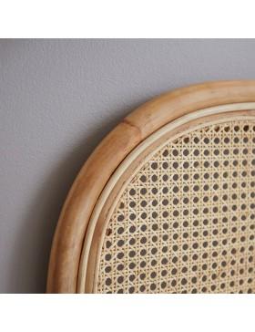 Tête de lit en rotin cannée 160 cm Joséphine