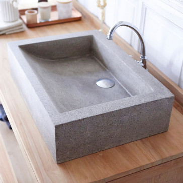 Vasque en terrazzo Pegase grey