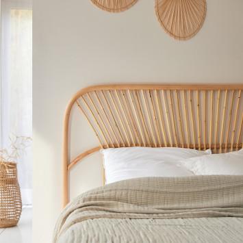 Tête de lit en rotin 160 cm Colette