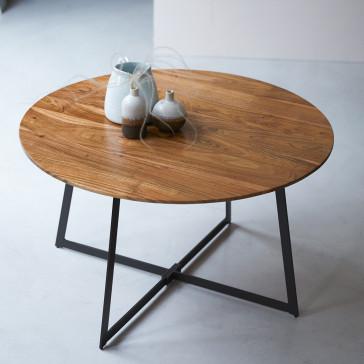 Table basse en acacia massif Temis