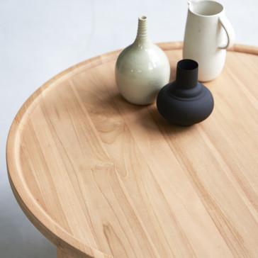Table basse en teck massif Ana