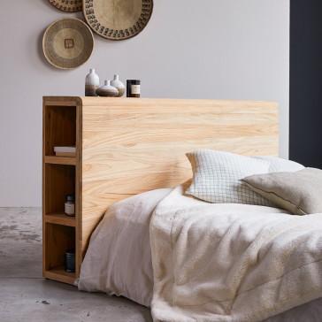 Tête de lit en teck massif 165 cm Bertie