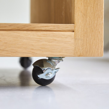 Table basse rectangulaire en chêne massif Anoa