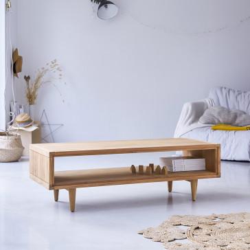 Table basse en teck massif Jonàk