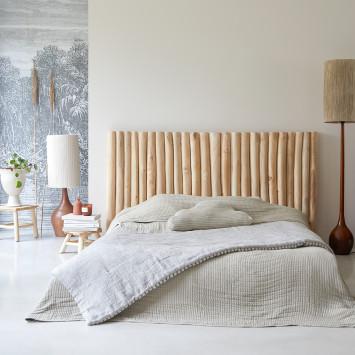 Tête de lit en teck massif 180 cm River