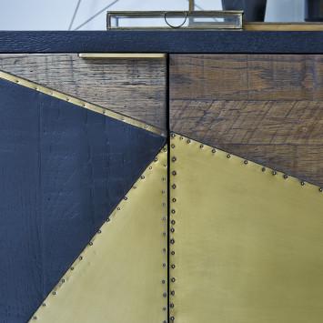 Buffet en chêne Oscar 240 cm