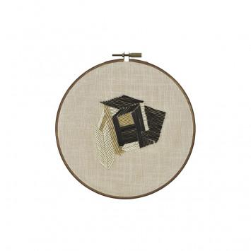 Wall decor Beads beige M