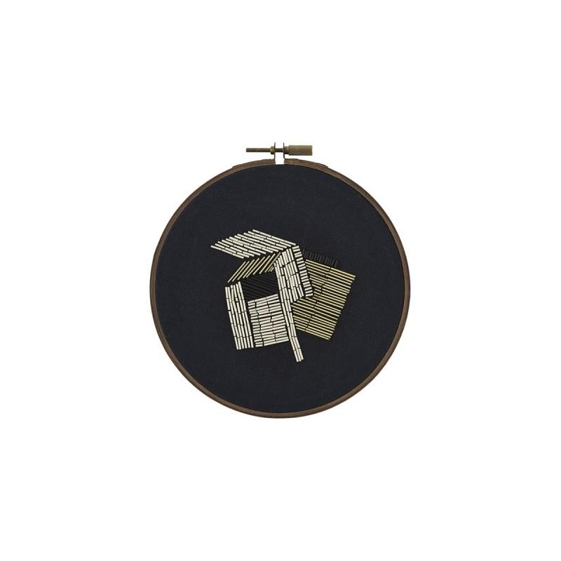 Wall decor Beads black