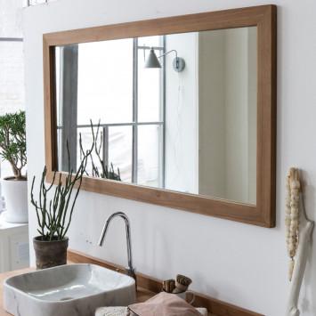 Miroir en teck Milano 140x70 cm