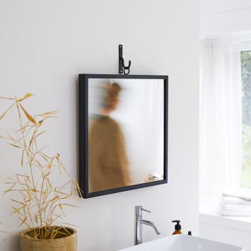 Miroir en métal Square 50 cm