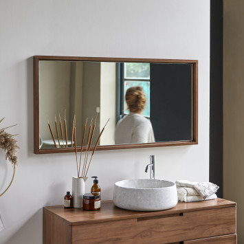 Miroir en teck Parker 120x60 cm