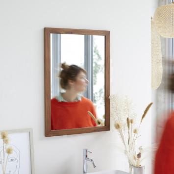 Miroir en acajou Loggia 70x50 cm