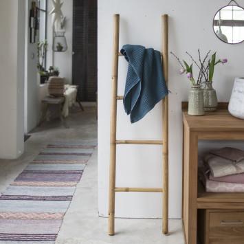 Porte serviette en bambou naturel