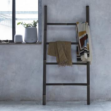 Porte serviette en bambou black